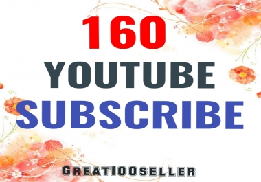 160 YouTube Subscriber Nondrop Refill Garente