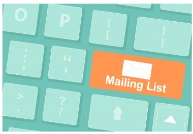 Provide You 2 Million Email Database - USA