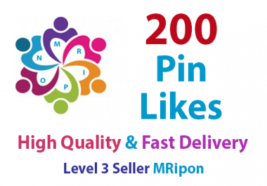Start Instant 200 High Quality Pin Likes