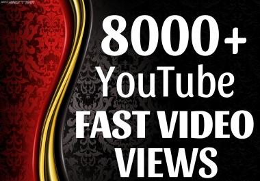 Add 8000+ HQ Views NON DROP