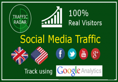 send 15000+ low bounce rate traffic from social media
