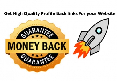 Get 30 High Quality  PR8-PR10  Profile Back links For your Website with 12-24 Hours Delivery