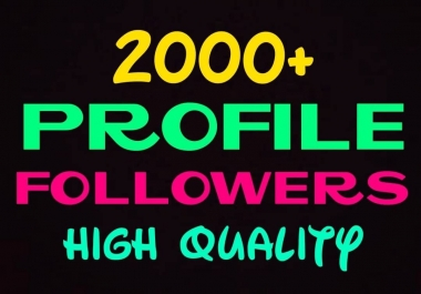 Add 2000+ high quality social promotion instantly