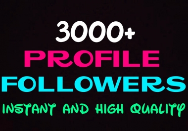 Add 3000+ high quality social promotion instantly