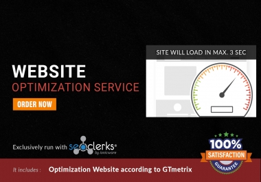 I will make faster wordpress website and load in 3 seconds in 24 hours