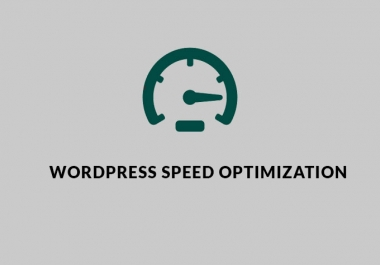 Do speed optimization for your website