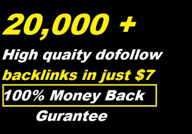200,000 Gsa,Dofollow,Backlinks For Seo