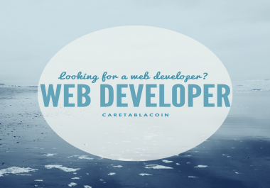 Be Your Web Developer In Php, Wordpress, HTML Or Javascript