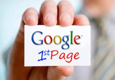 2018  POWERFUL GOOGLE 1ST PAGE SUPER RANKING WITH HIGH PR web2.0, PR 2, PR 9