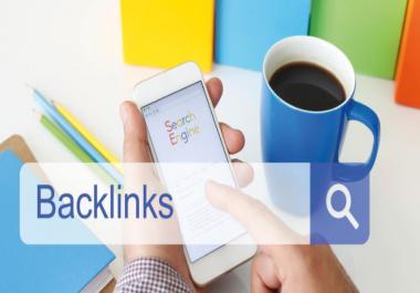 Provide 50+ DA Domain Authority 30+ Do-follow Back- link