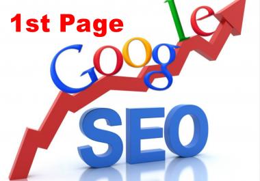 Guaranteed Google 1st page Ranking