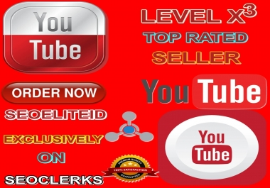 I Will Provide You 200+ Youtube Likes And Free Bonus 10+ Youtube Subscribers And Free Bonus 100+ Youtube Views And Free Bonus 1+ Youtube Comment Safe Non Drop Guarantee