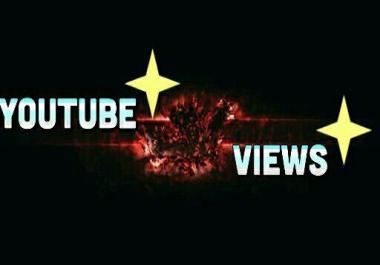 2000-3000 YouTube Vie ws Super Fast & Non Drop