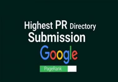 30 High PR Directory Submission For SEO
