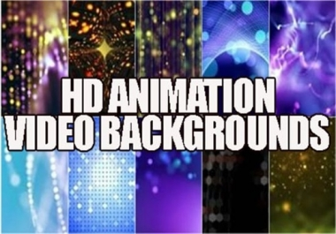 GET 100 HD Animation Background Videos
