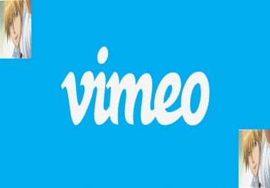 Get High Quality 22+Vimeo Followers or Likes fast,non drop,safe