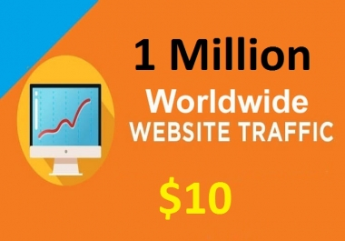 1 Million Worldwide Traffic To Your Website
