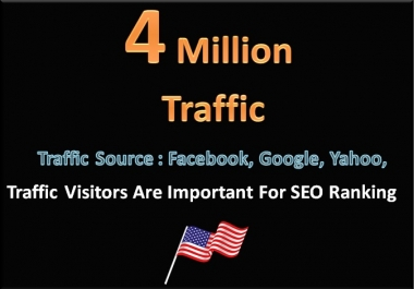 4 Million Traffic Visitors To Your Website or Blog