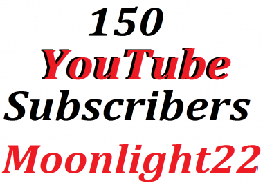150 Manually channels subscribers  lifetime guaranteed Refill