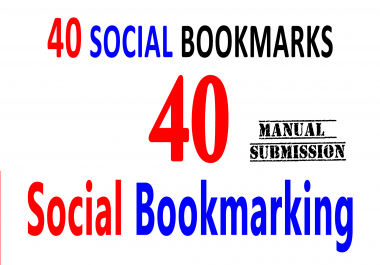 Submit Your URL 40 High DA Social Bookmarking Sites