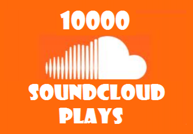 Give Soundcloud Permanent 10 000 Play Promotion