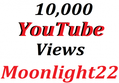 Super Offer  10.000 Video Views non drop Refill Guarantee 12-24 hours super fast delivery