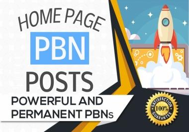 Create 10 High Metrics Manual PBN Posts With Contextual Backlinks