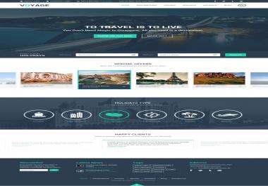 Create PSDTo HTML Responsive Website