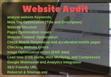 Do advance SEO Audit for Your Website