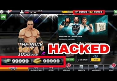 WWE Mayhem - ANDROID -Mega Mod Package 2018