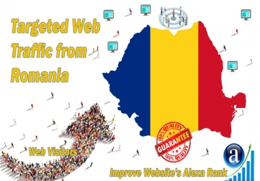 Romanian web visitors real targeted Organic web traffic from Romania
