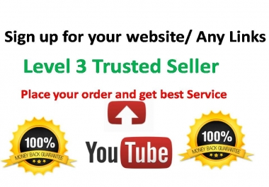 10+ Sign ups Service For Your Site or Any Link