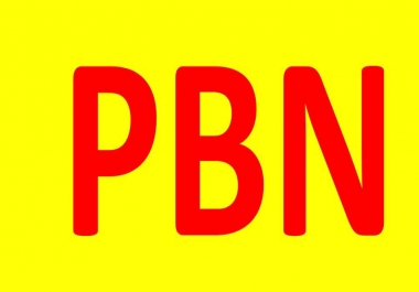 50 + PBNs Service For Your Site or Any Link High Metrics Contextual Backlinks