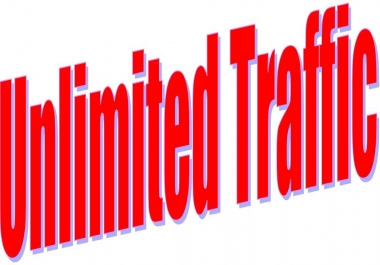 Get Unlimited Traffic from Google Twitter Youtube and many more with 7 days to web site For Your Site or Any Link with fast delivery