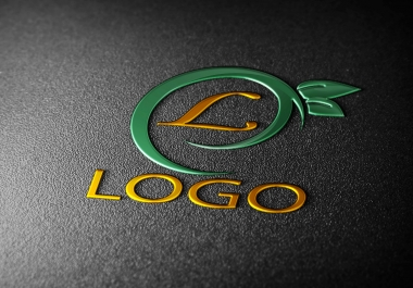 convert your transparent logo into 3D MockUp design - sample no22