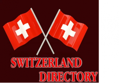 Manually Submit Your Website In 21 Switzerland Directories