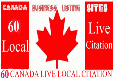 Create 60 Live Local Citation For Canada
