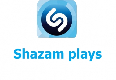 Buy 5000+ USA  Shazam Plays for your tracks it's non drop and instant start