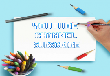 1500 Non Drop YouTube Channel Subscriber Fast Delivery
