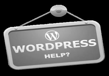 I can fix your WP website problem