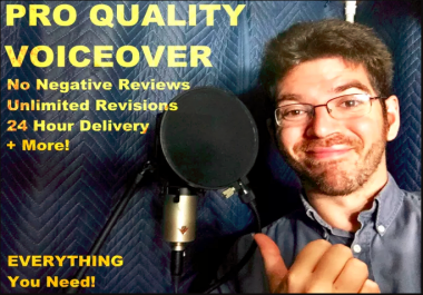 Record 1000 Words Of Pro Voiceover