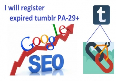 Sale Account 25 Expired Tumblr High Page Authority 30+ For Web 2 0 Or PBN