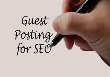 Guest Post On Premium High Authority Sites