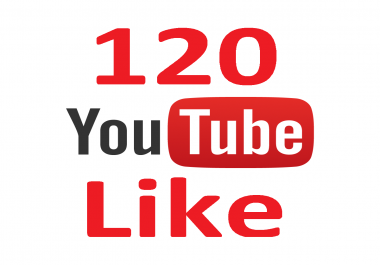 YT Campaign - You Get Safe 120  YT Real Iikes to improve YT Ranking
