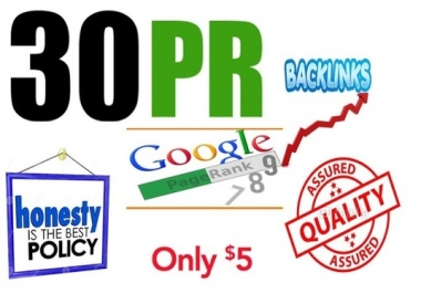 ranking website and youtube with pr9 high authority backlinks