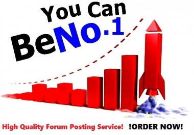 Will Do 30 High Quality Forum Posting On Any Forum