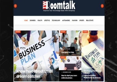 "write and publish UNIQUE guest post on ""Twroomtalk "" MAGAZINE BLOG"