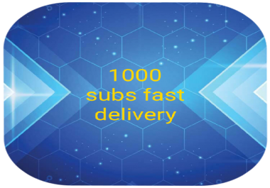 1000 subs non drop fsat delivery