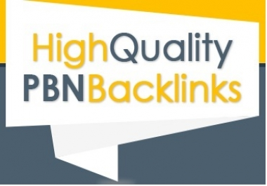 15 Manual High TF CF DA PA 30+ Homepage PBN Backlinks