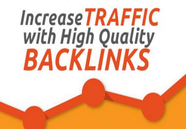 Offer 20 PR 7 to PR 9 backlinks